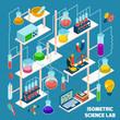 Isometric Science Lab - 78626539