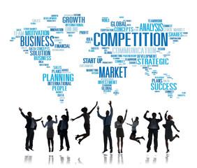 Competition Market Global Challenge Contest Concept