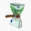 banknote with belt
