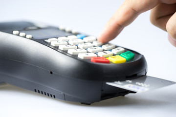 Credit & debit card password payment