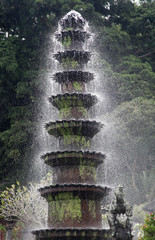Fountain in the water Palace of Tirtagangga