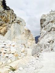 Marble quarry in Carrara