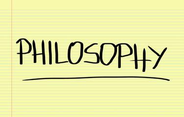 Philosophy Concept