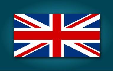 Flag of United Kingdom - Illustration
