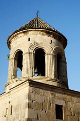 Bell tower in Gelati Monastery near Kutaisi ,Imereti, Georgia