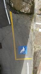 Parcheggio portatori di handicap