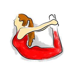 Yoga Dhanurasana