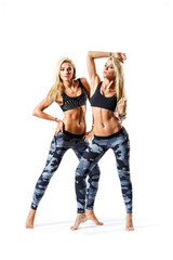 twins fitness females