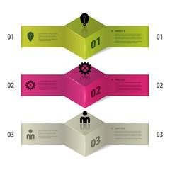 Infographics. Modern Business step options. Vector illustration.
