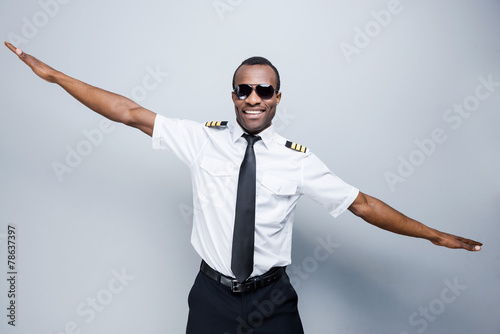 Leinwanddruck Bild As a plane.