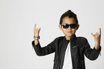 Cool young rocker