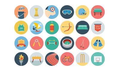 Sports Flat Icons - Vol 3