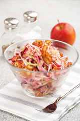 appetizing vegetable salad