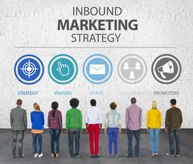 Inbound Marketing Strategy Advertisement Commercial Branding