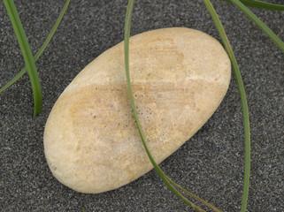 砂浜と小石
