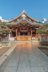湯島天神  Yushima Tenjin where God of studies is enshrined