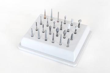 歯科用 タービン ビット  The tip of the dental drill