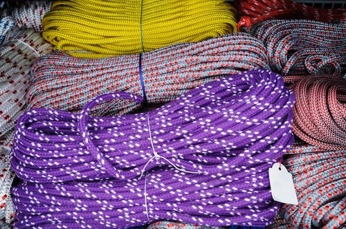 canvas print picture Auswahl an Seilen