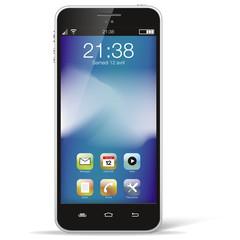 Smartphone noir seul