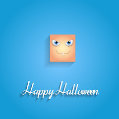 Naughty Face Expression Halloween Greeting