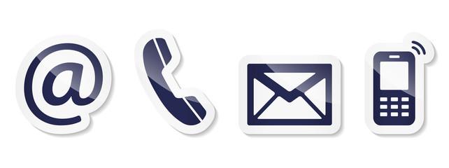 Contact Us – Nightblue sticker icons