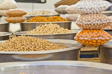 nuts on market