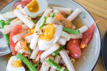 boil egg salad