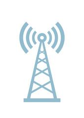 Transmitter vector icon on white background
