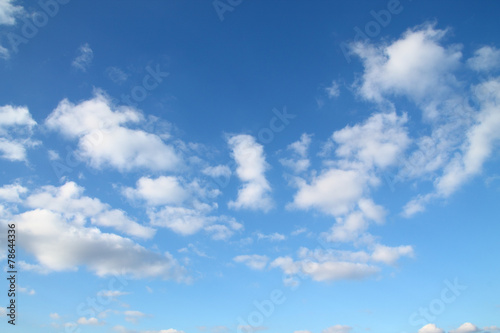 canvas print picture Wolkenhimmel