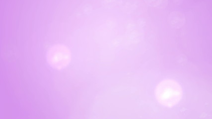 Bokeh Light Particles on Soft Pink Background as Backdrop