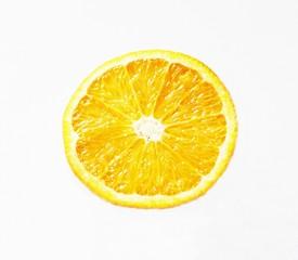 Orangen Querschnitt