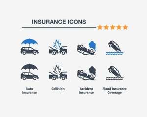 Insurance Icons 3