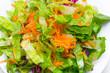 Leinwanddruck Bild - gemischter Salat