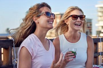Fun outdoor women