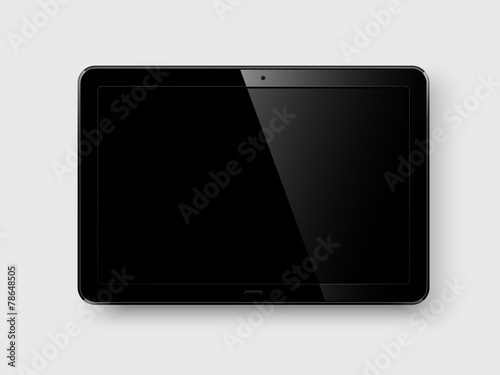 Tablet pc. Vector - 78648505