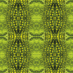 Abstract seamless pattern with stylized reptile skin