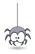 Funny Spider - Halloween Vector Illustration - 78649568