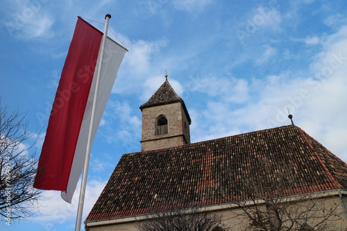 canvas print picture Kirche in Tirol