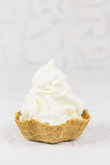 Frozen Yogurt pur