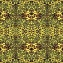 Abstract seamless pattern with stylized crocodile skin