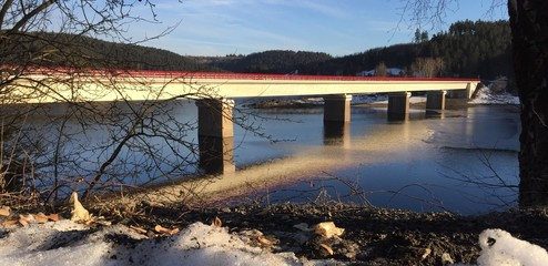 Brücke im Harz