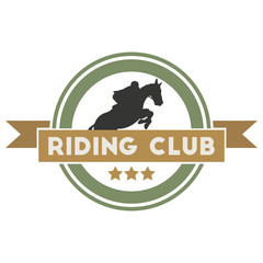 Riding club label