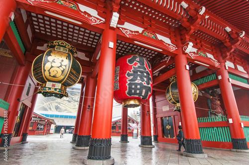 Foto op Canvas Bedehuis Sensoji Temple