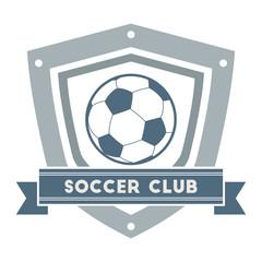 Soccer or Football Club Label
