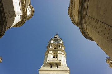 Philadelphia City Hall Tower & Statue of Penn