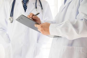 Two doctors in exchange