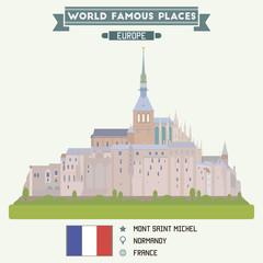 Mont Saint Michel. Normandy, France