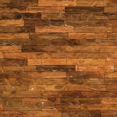 Water Drops on a Wooden Floor