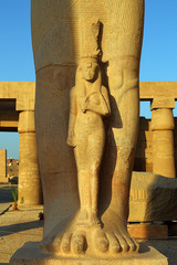 Fragment of Statue of Ramses II in Luxor Egypt