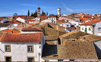 Almeida historical village in Portugal